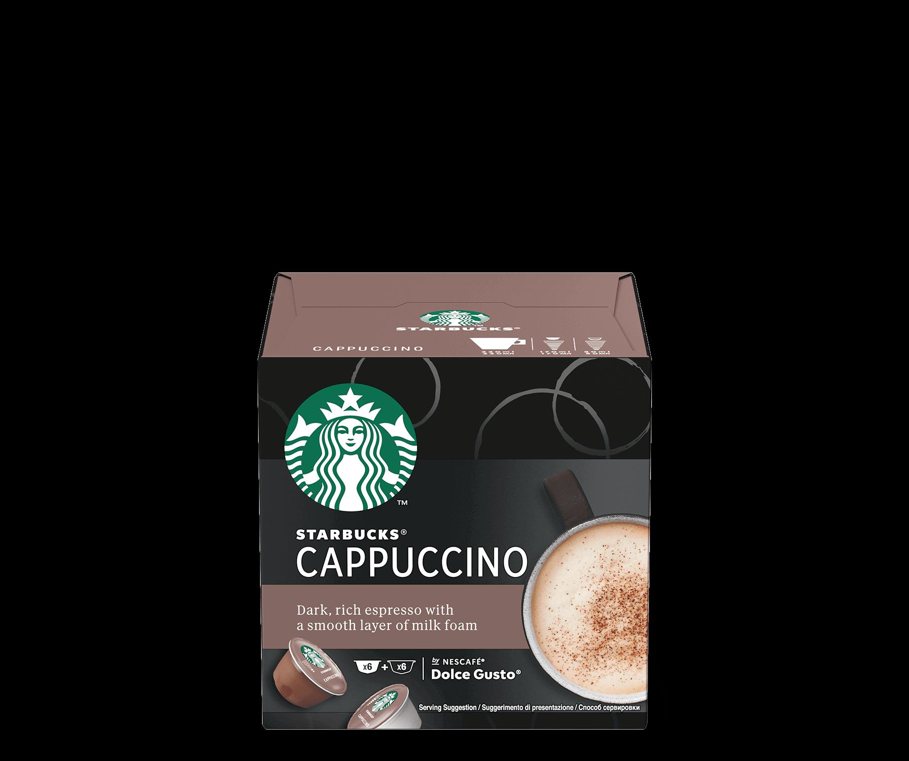 Starbucks® NESCAFÉ® Dolce Gusto® Cappuccino