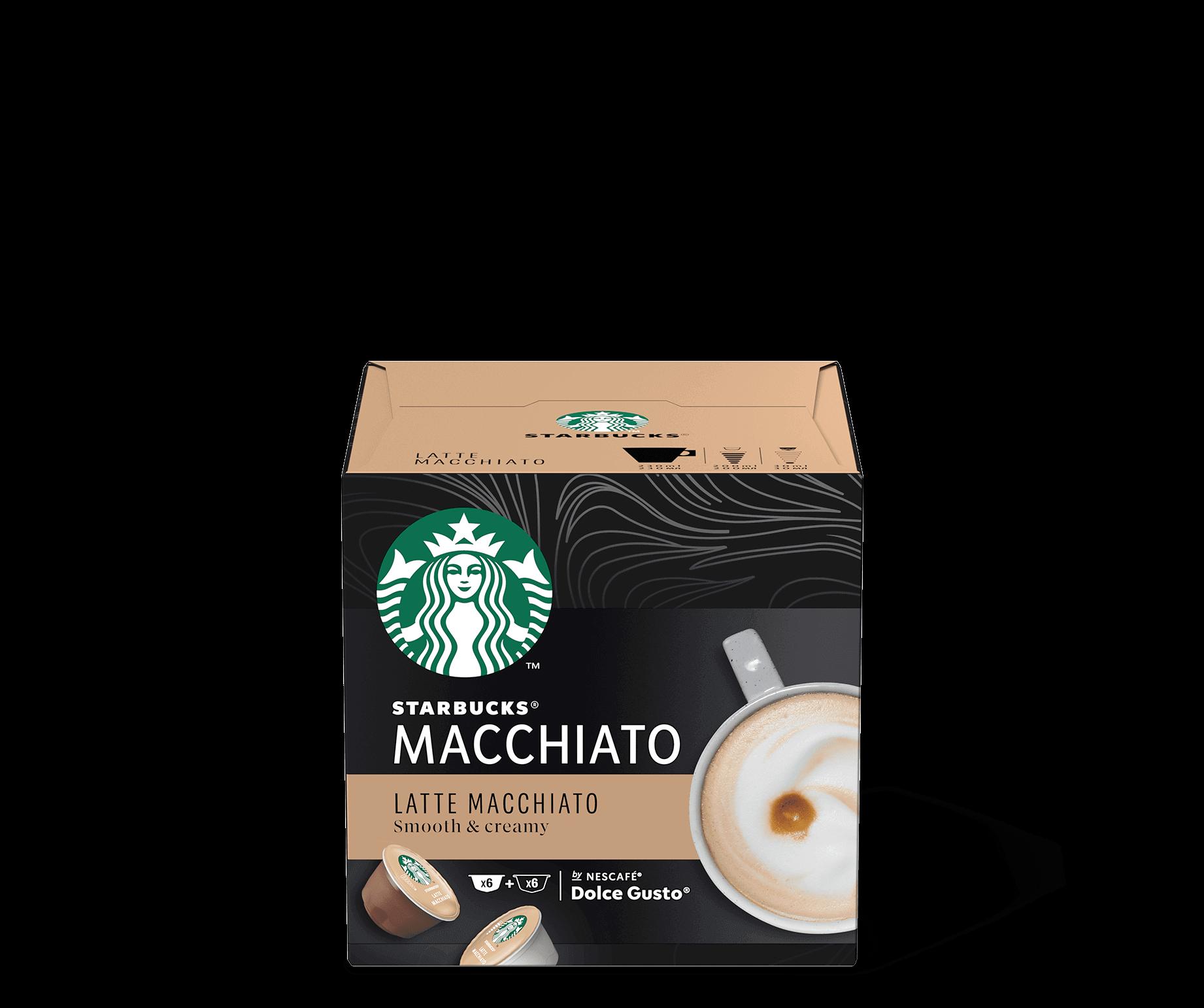 Starbucks® NESCAFÉ® Dolce Gusto® Latte Macchiato Kaffee