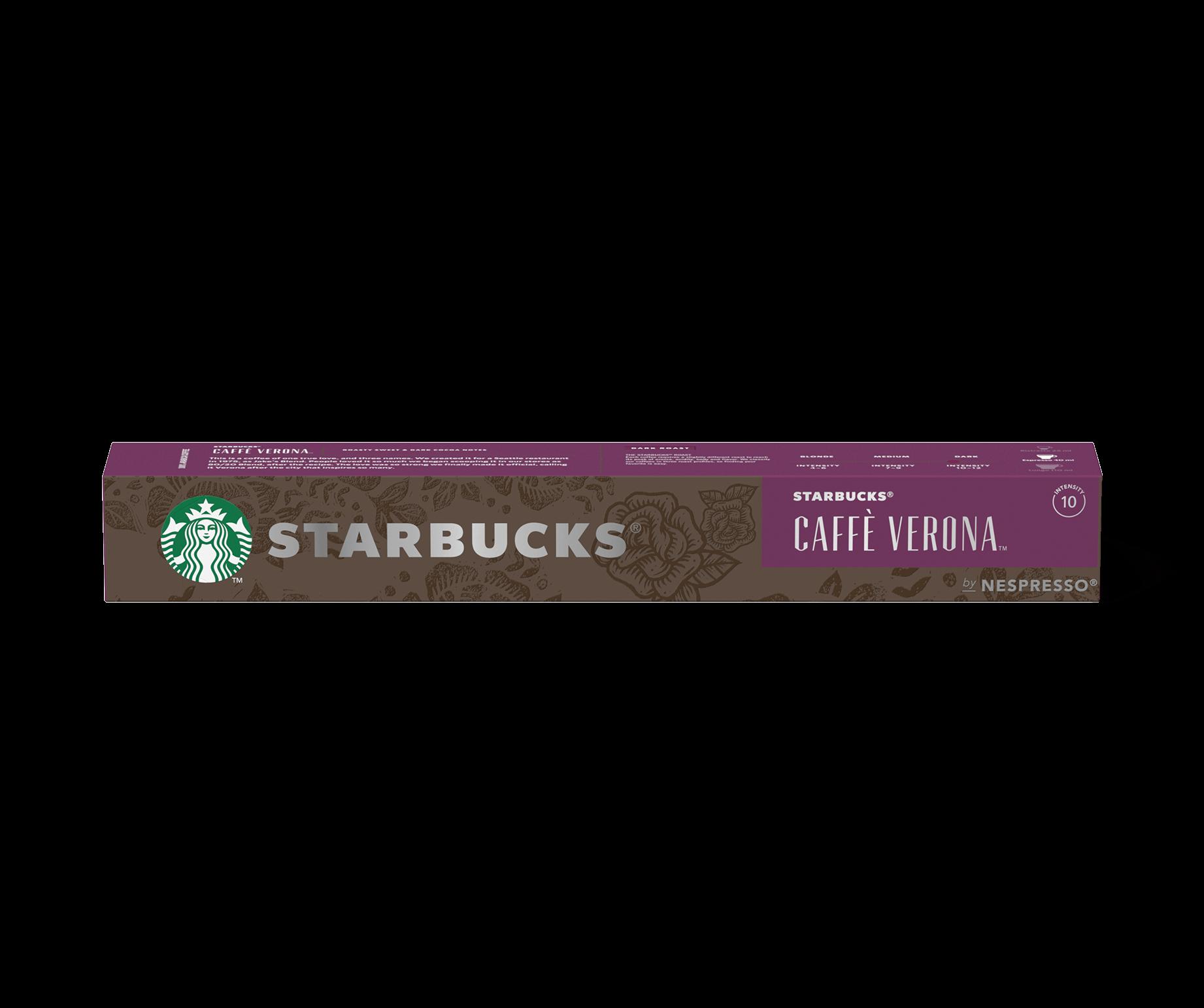 Starbucks® NESPRESSO® Caffè Verona Dark Roast Kaffee