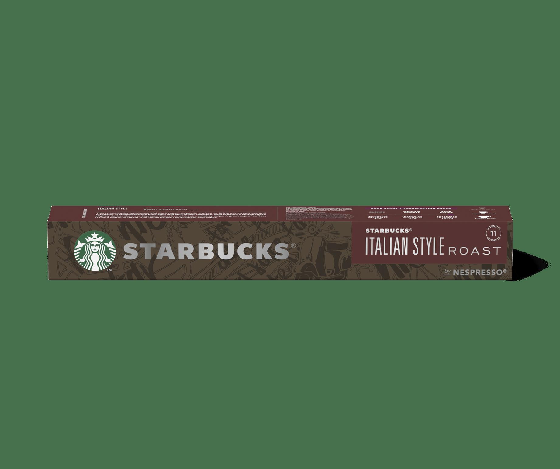Starbucks® NESPRESSO® Italian Style Roast Kaffee