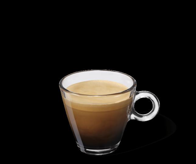 Starbucks® Italian Style Roast in einer transparenten Tasse