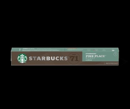 STARBUCKS® PIKE PLACE by NESPRESSO® Medium Roast Coffee