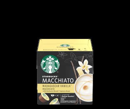 Starbucks® NESCAFÉ® Dolce Gusto® Madagascar Vanilla Macchiato Kaffee