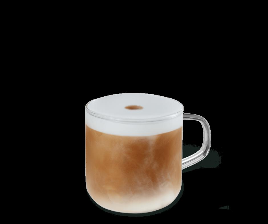 Latte Macchiato im Becher