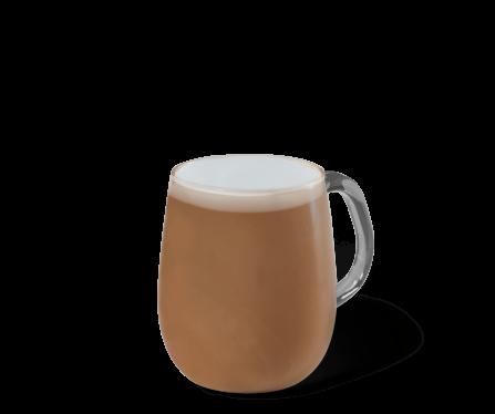 Cafe Au Lait im Kaffeebecher