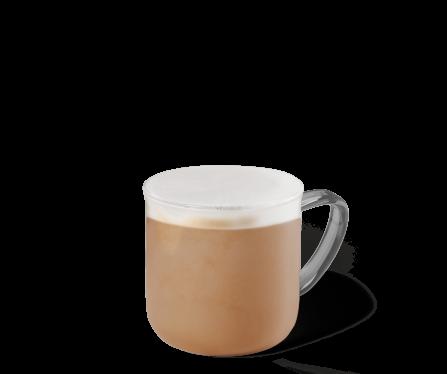 Blonde Vanilla Latte Kaffee im Becher
