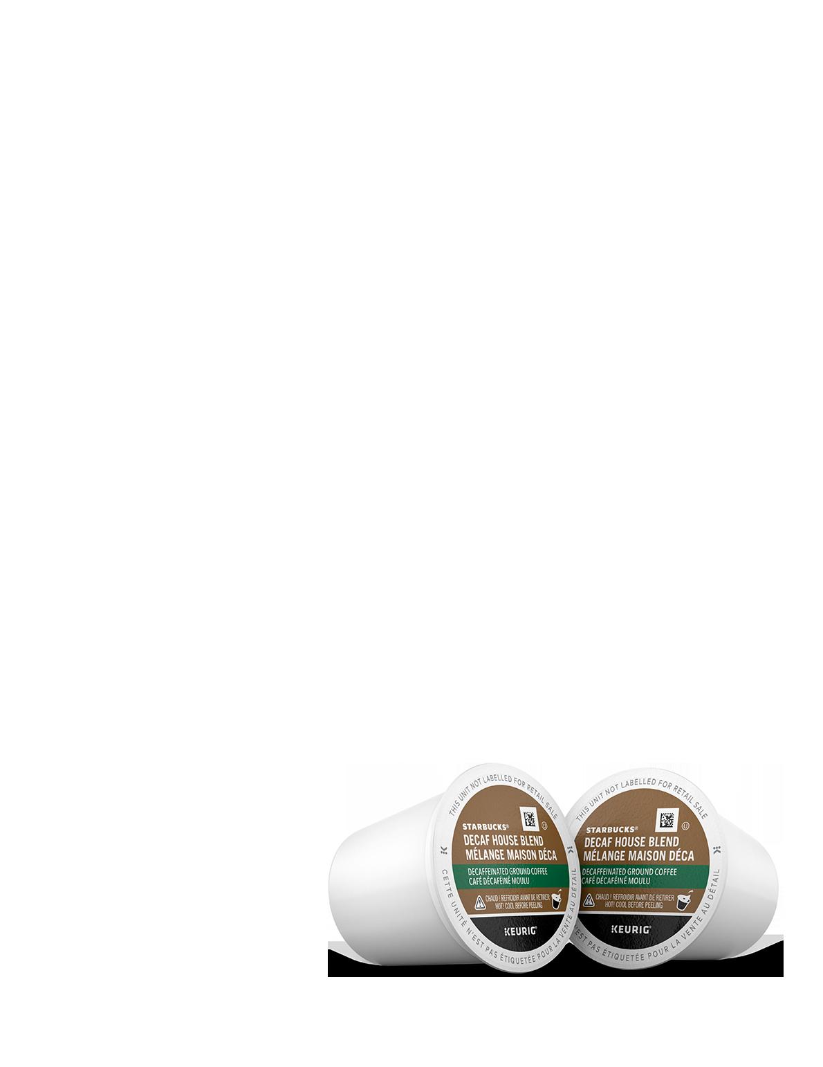 Starbucks® Mélange Maison Déca - 10 unités