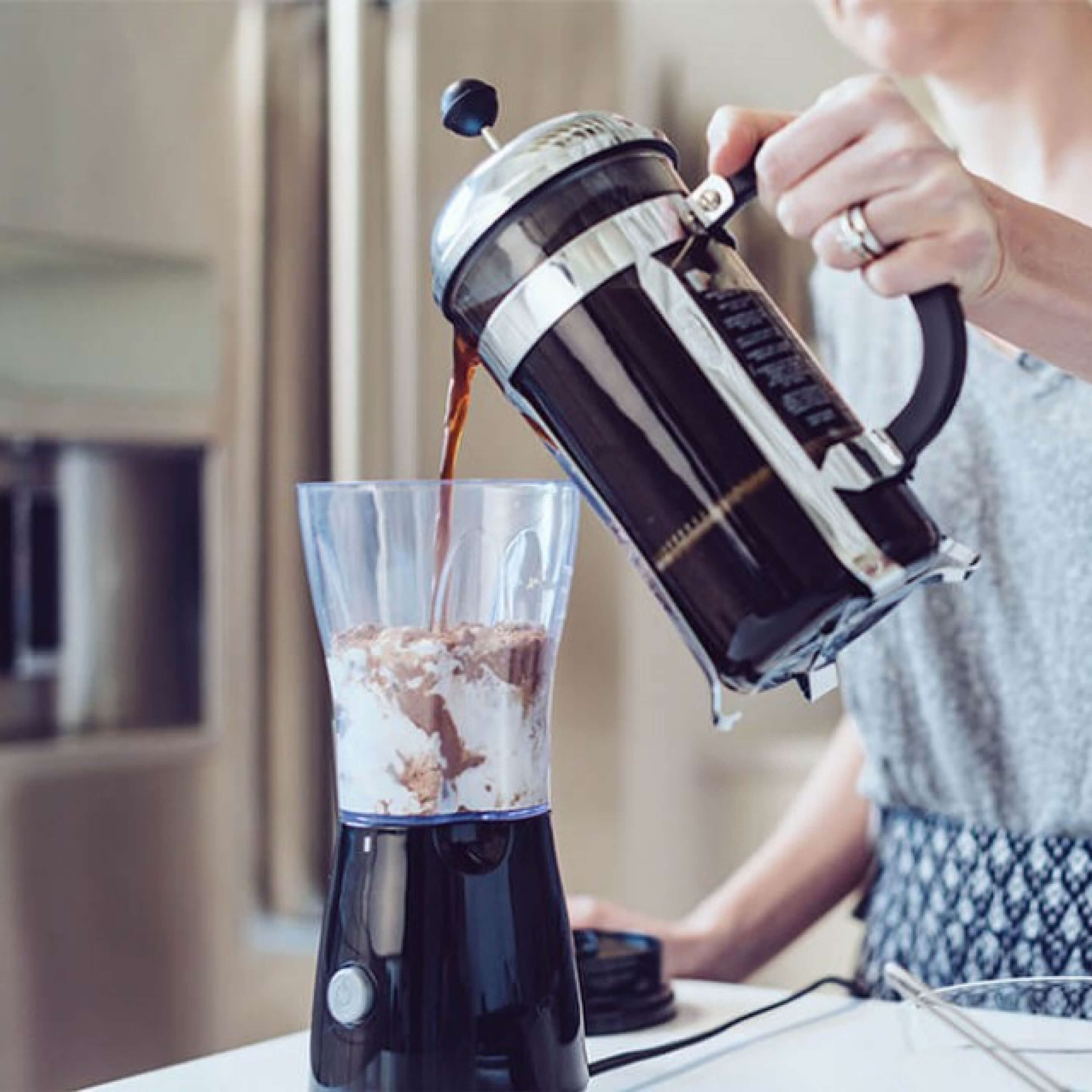 Blended Coconut coffee