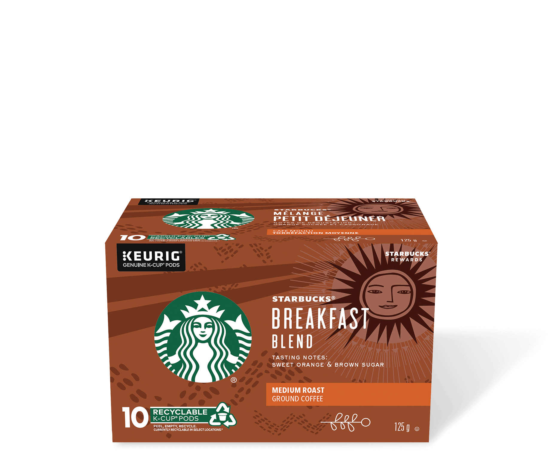 Starbucks® Breakfast Blend - 10 count
