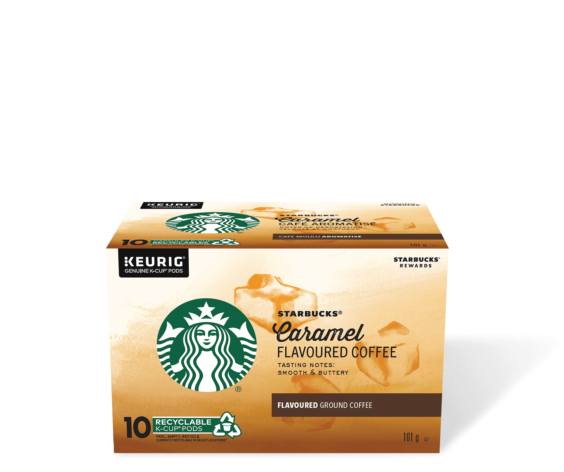 Starbucks® Caramel Flavoured - 10 count