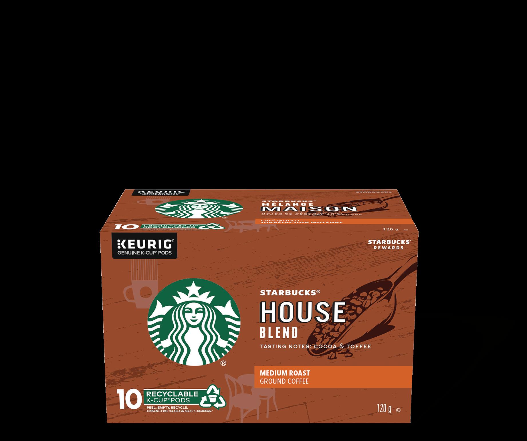 Starbucks® House Blend - 10 count