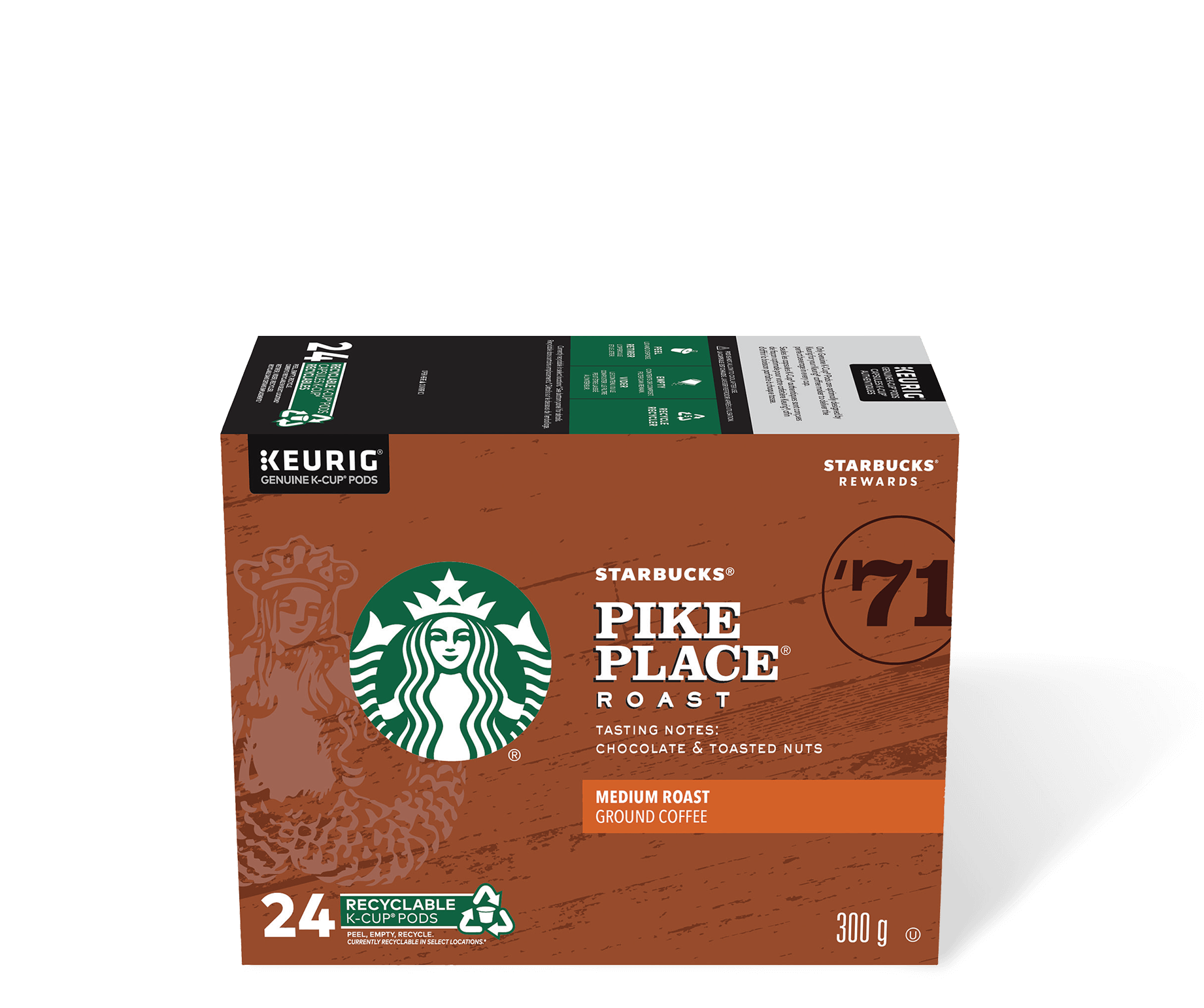Starbucks® Pike Place® Roast - 24 count