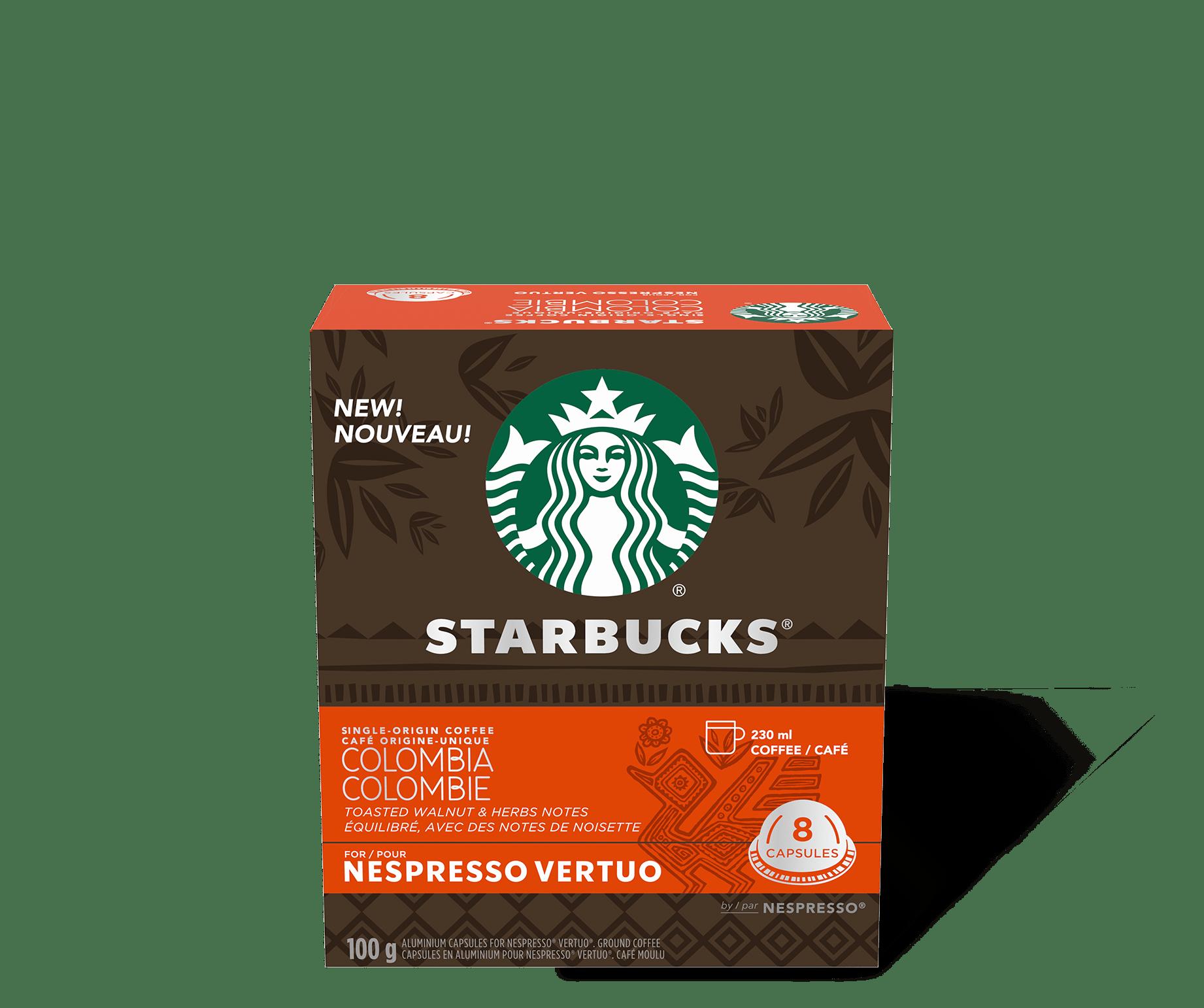 Starbucks by Nespresso Vertuo Single Origin Colombia