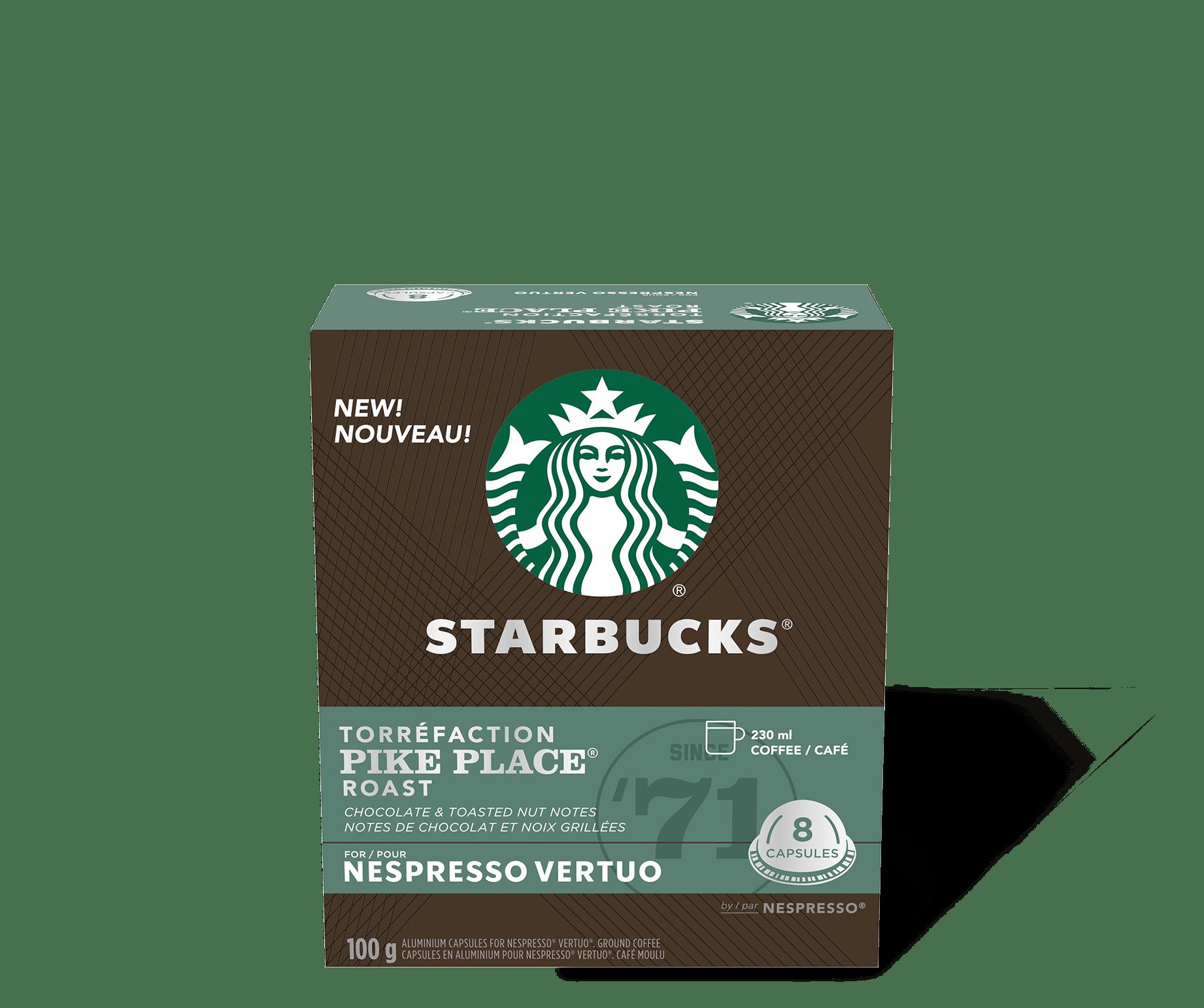 Starbucks by Nespresso Vertuo Pike Place Roast