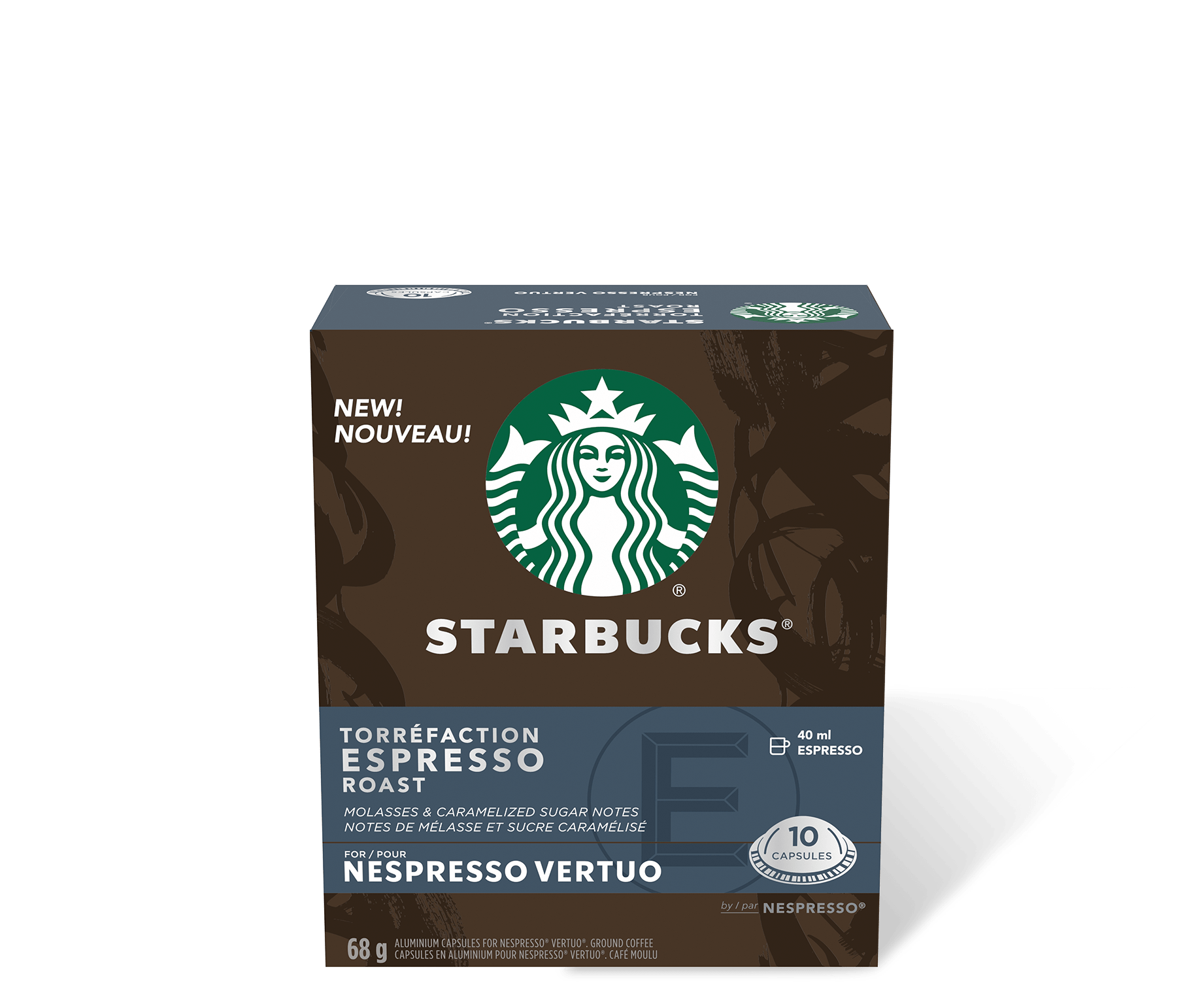 Starbucks by Nespresso Vertuo Espresso Roast
