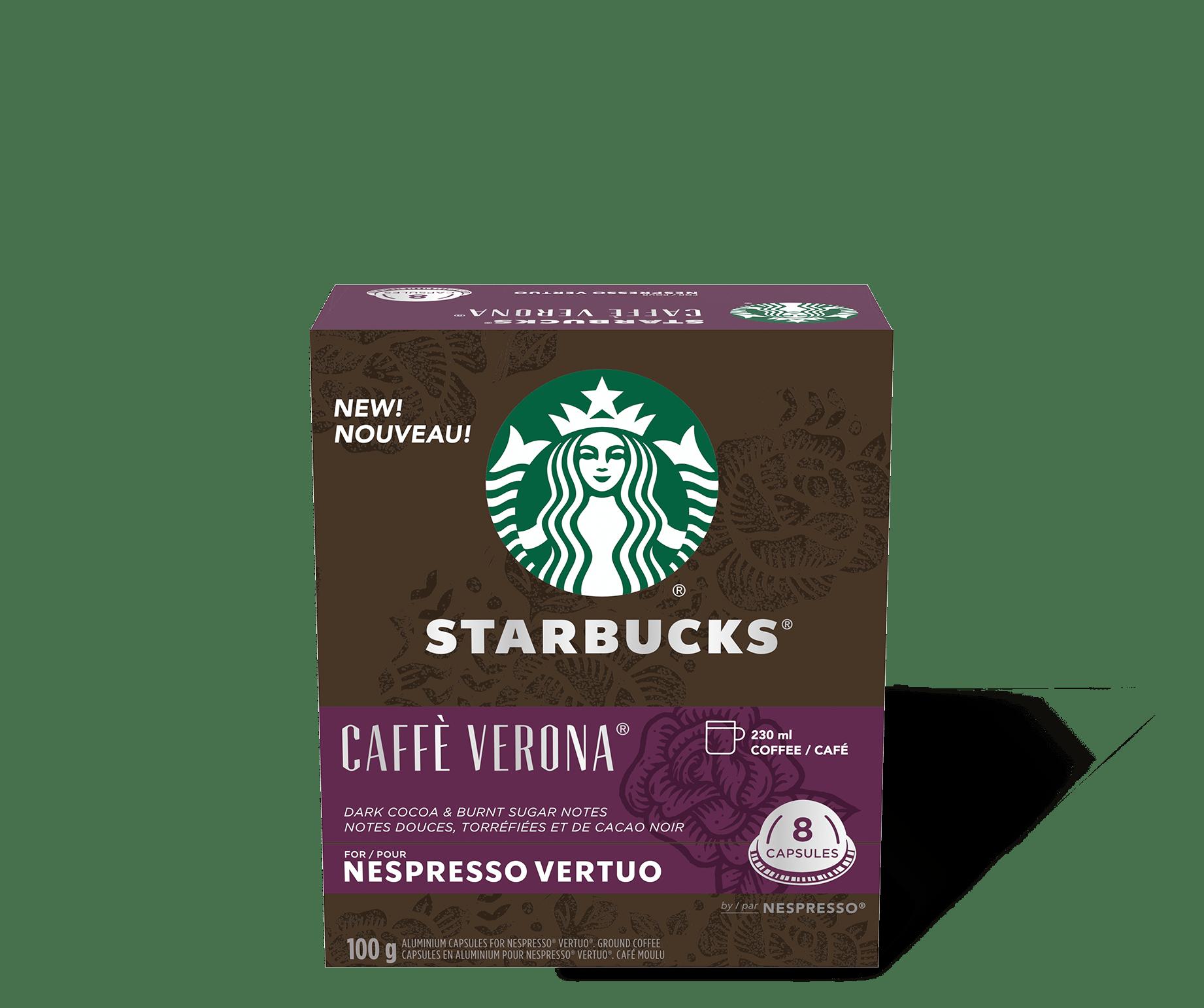 Starbucks by Nespresso Vertuo Caffe Verona