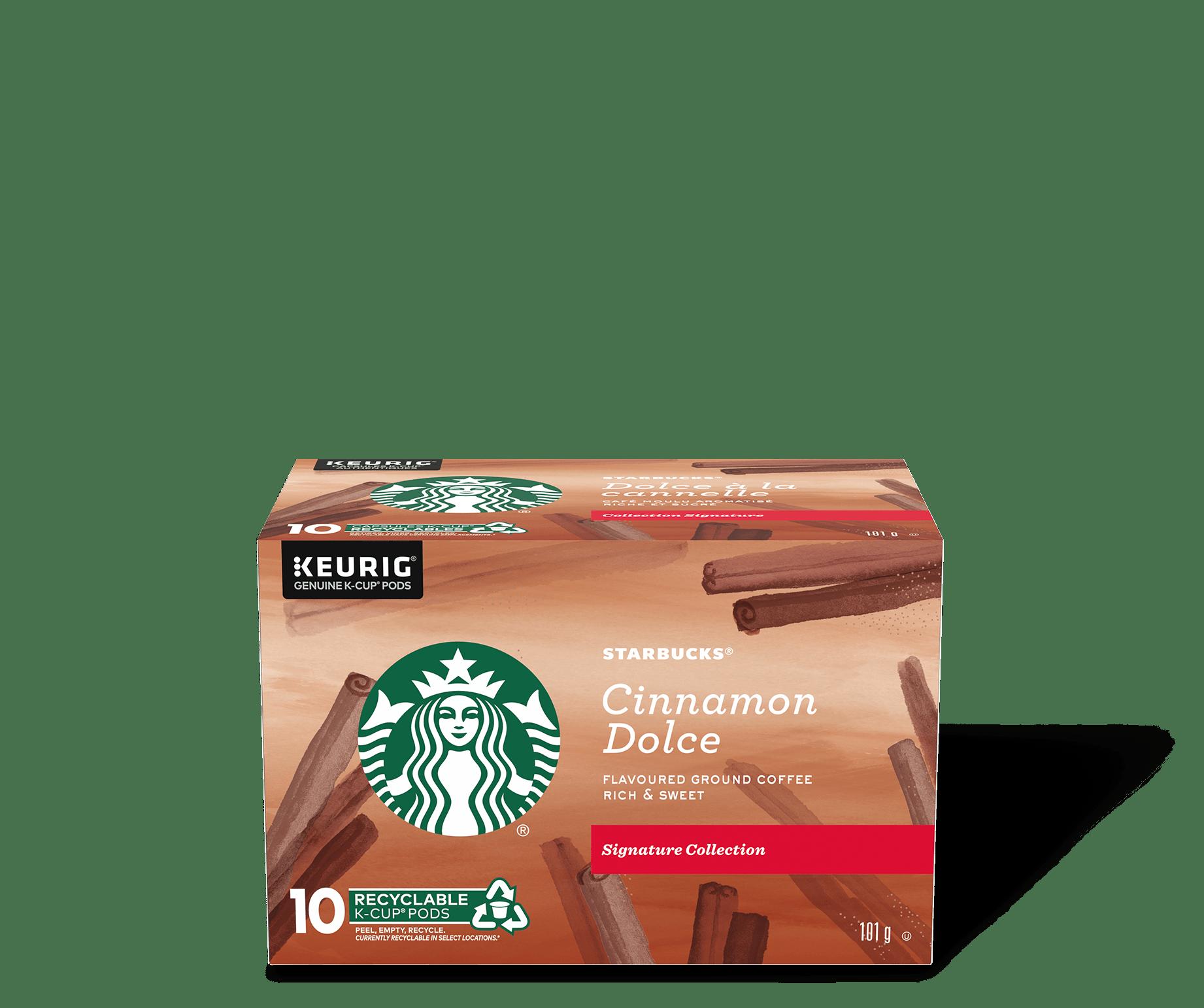 Starbucks® Cinnamon Dolce Flavoured - 10 count