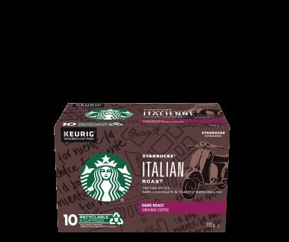 Starbucks® Italian Roast - 10 count