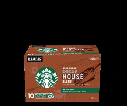 Starbucks® Decaf House Blend - 10 count