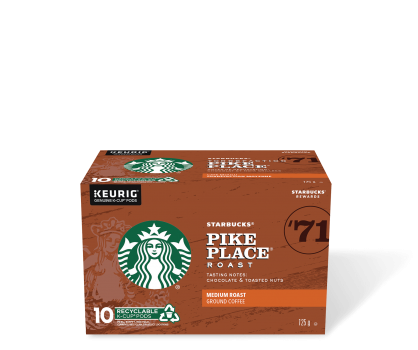 Starbucks® Pike Place® Roast - 10 count