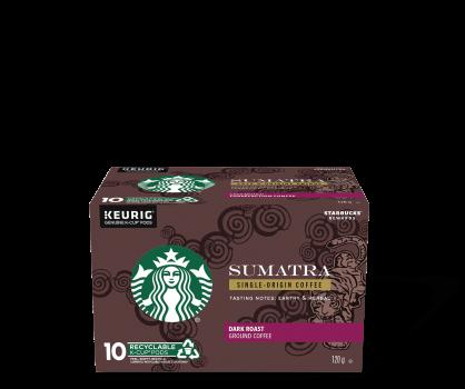 Starbucks® Sumatra Single-Origin - 10 count