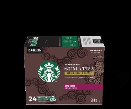 Starbucks® Sumatra Single-Origin - 24 count
