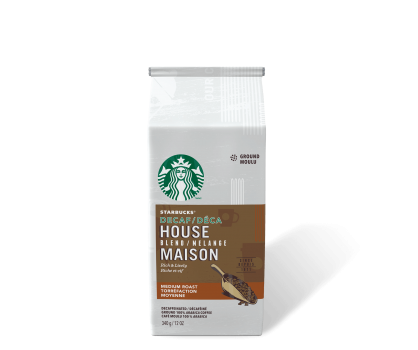 Starbucks® Decaf House Blend - 340g