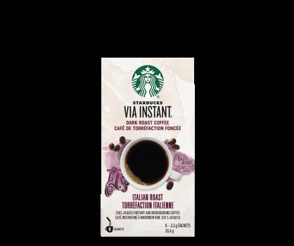Starbucks® Italian Roast - 8 sachets