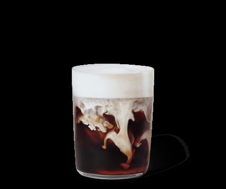 Iced Caramel Latte & Vanilla Cream
