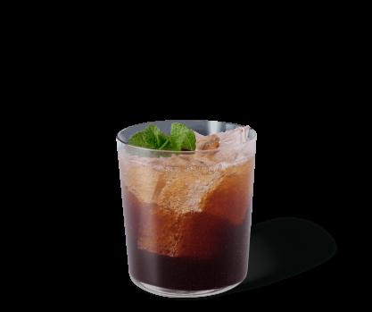 Espresso pétillant à la menthe