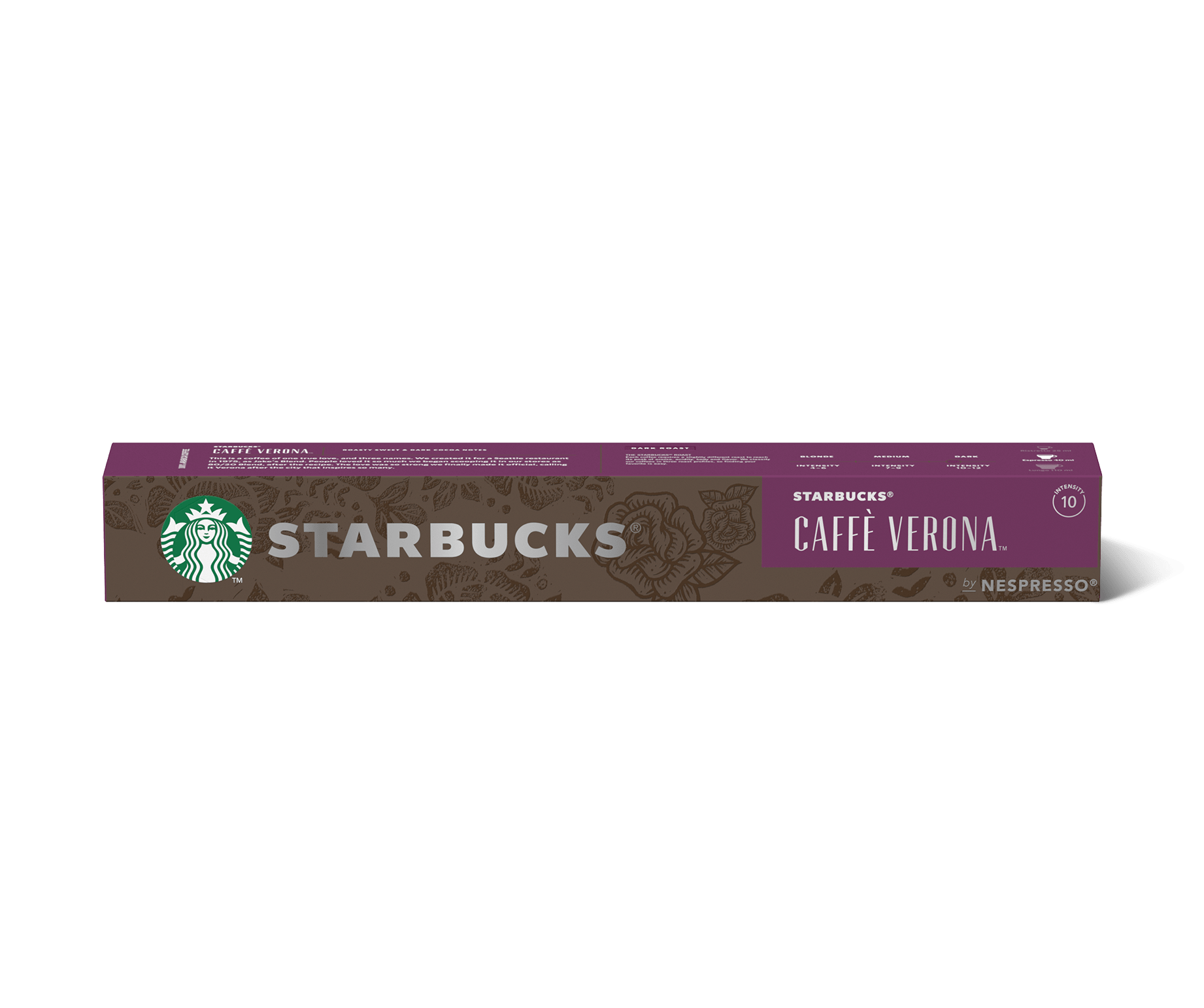 STARBUCKS® CAFFÈ VERONA by NESPRESSO® Dark Roast Coffee