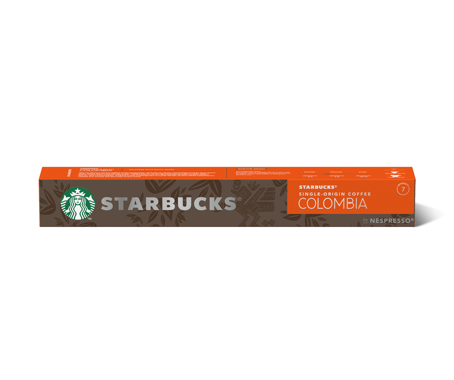 STARBUCKS® Single-Origin Colombia by NESPRESSO®  Medium Roast Coffee