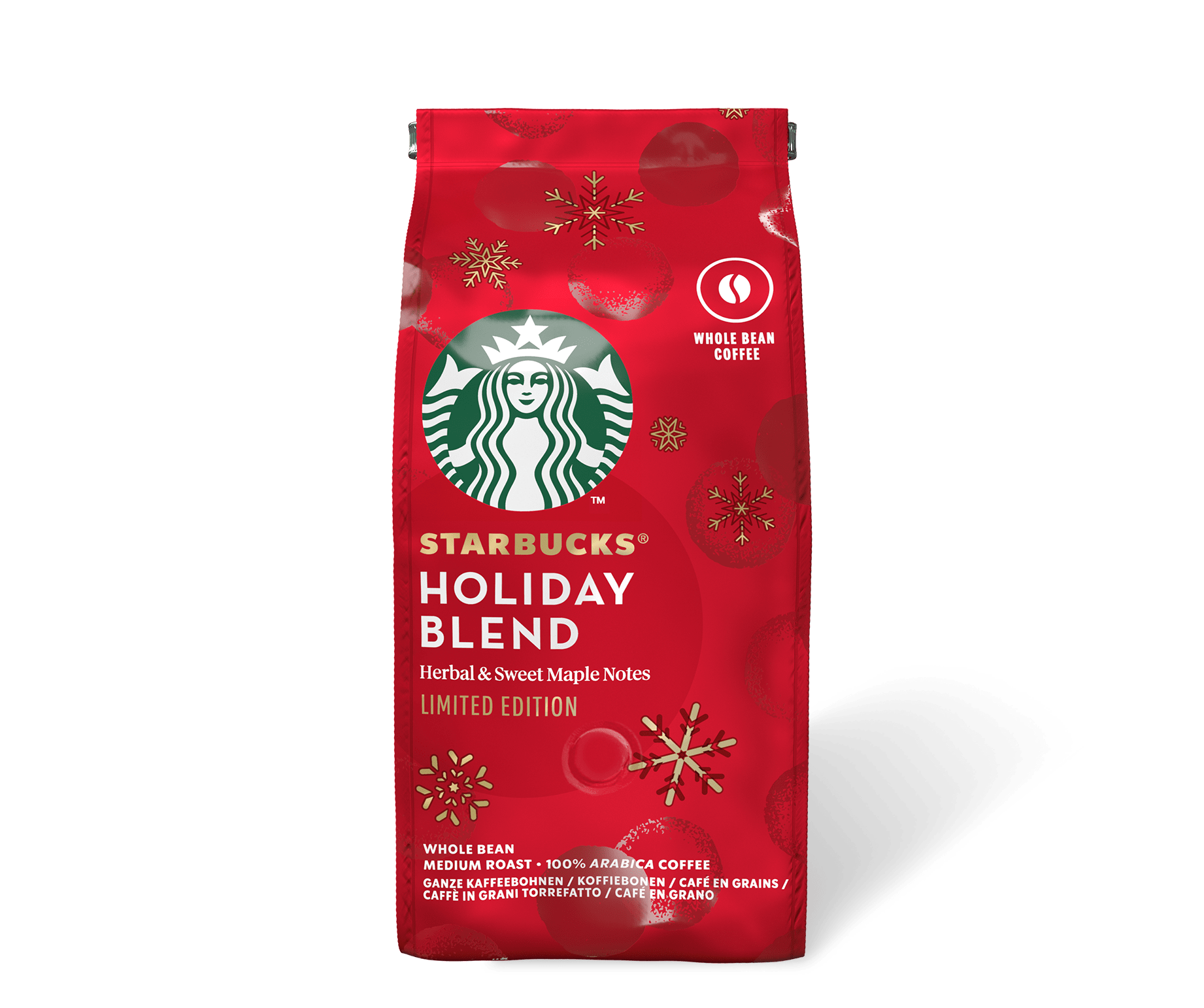 SBUX Whole Bean Holiday Blend