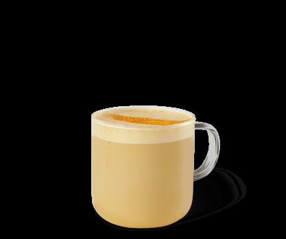 黃薑奶泡咖啡