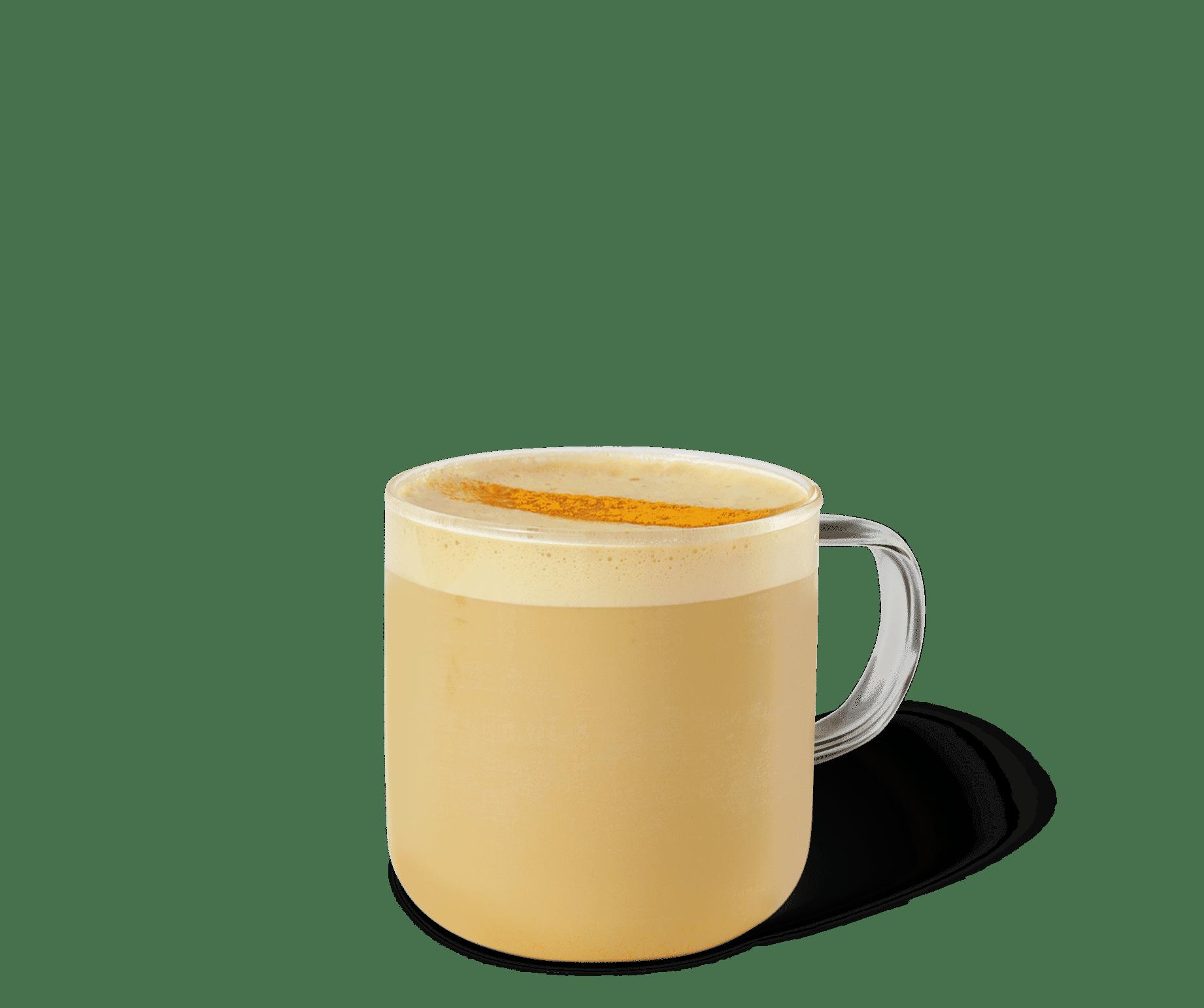 Tazza di Golden Tumeric latte Starbucks_ricette1