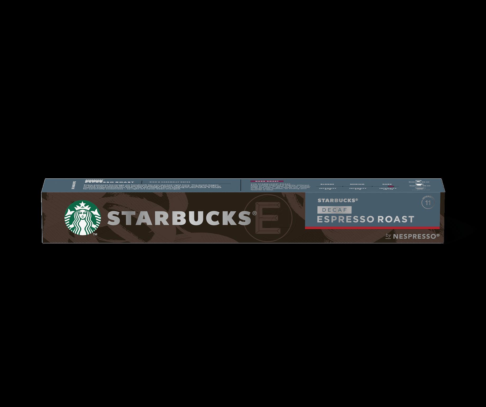 Confezione Capsule Starbucks Decaf Espresso Roast by Nespresso