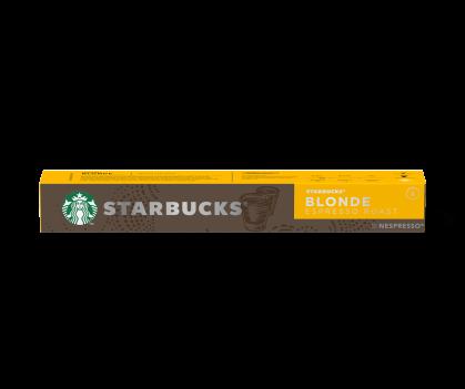 Confezione 10 Capsule Starbucks Blonde Espresso Roast by Nespresso