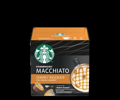 Confezione Capsule Starbucks Caramel Macchiato by Nescafé DolceGusto