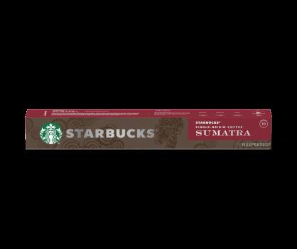 Confezione 10 Capsule Starbucks Single Origin Sumatra by Nespresso