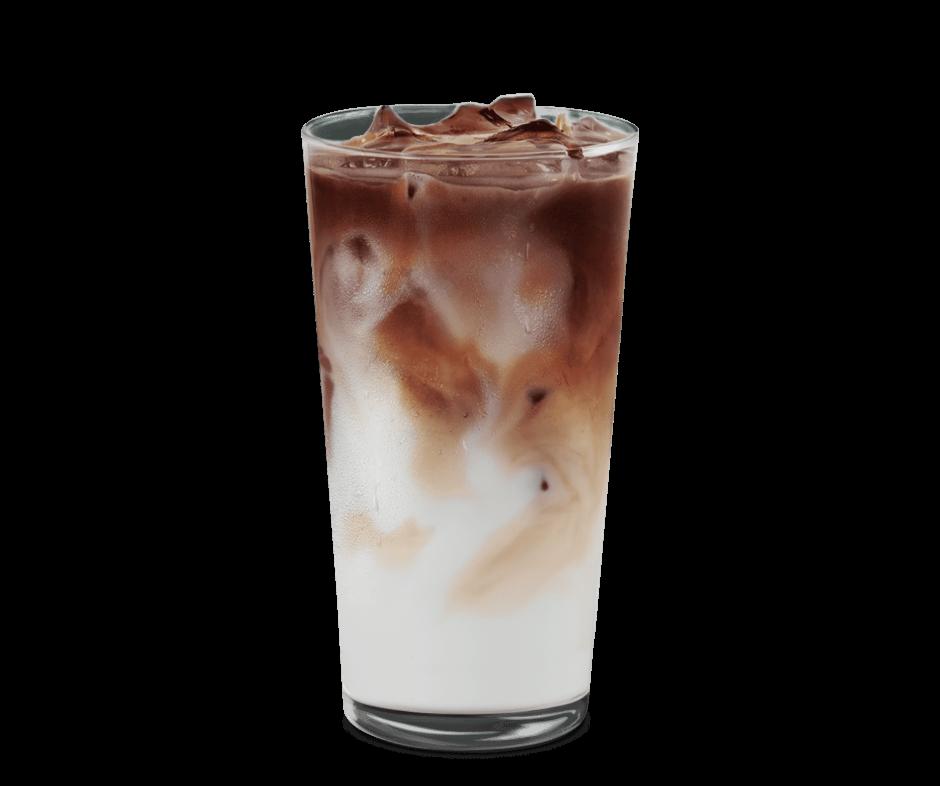 Tazza di Iced Caramel Macchiato Starbucks-min