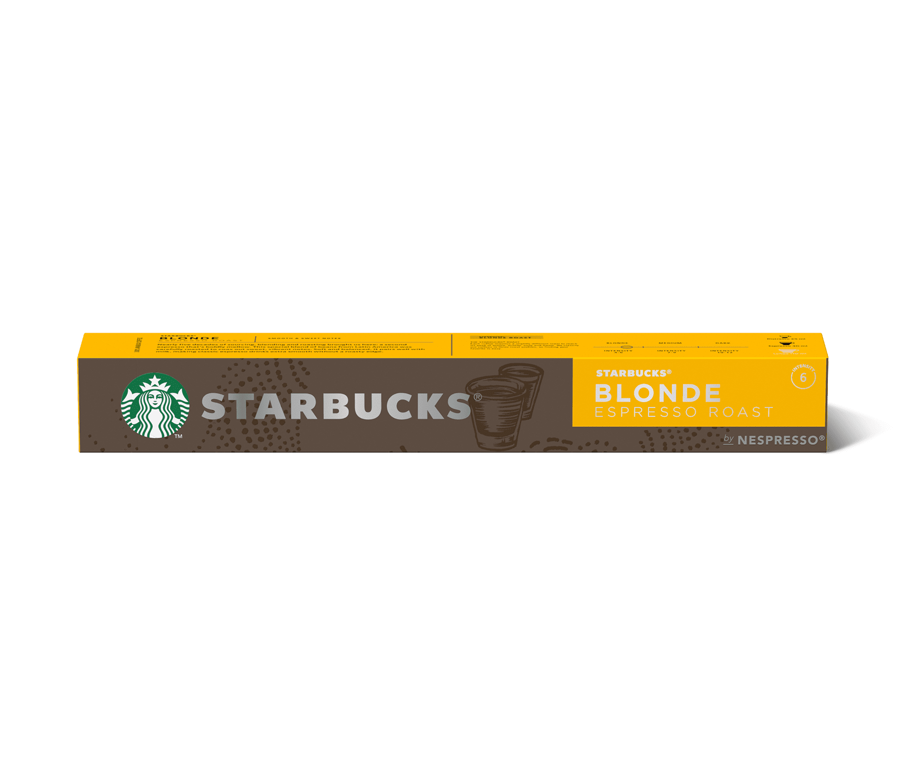 STARBUCKS® BLONDE Espresso Roast by NESPRESSO® Coffee