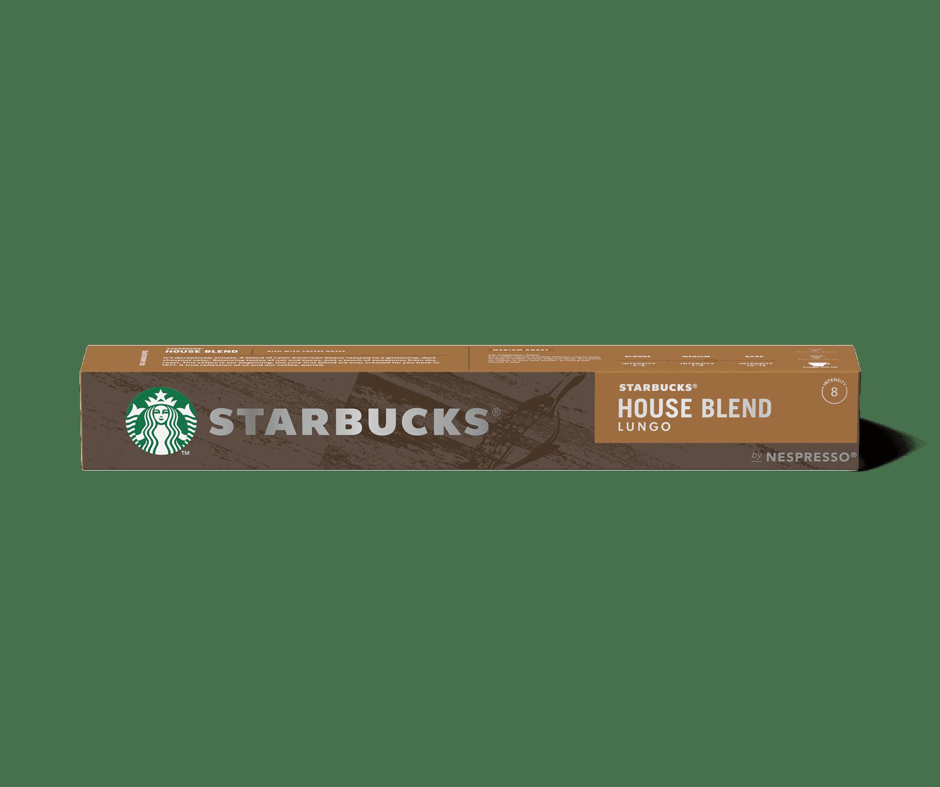 STARBUCKS® House Blend by NESPRESSO® Medium Roast Coffee