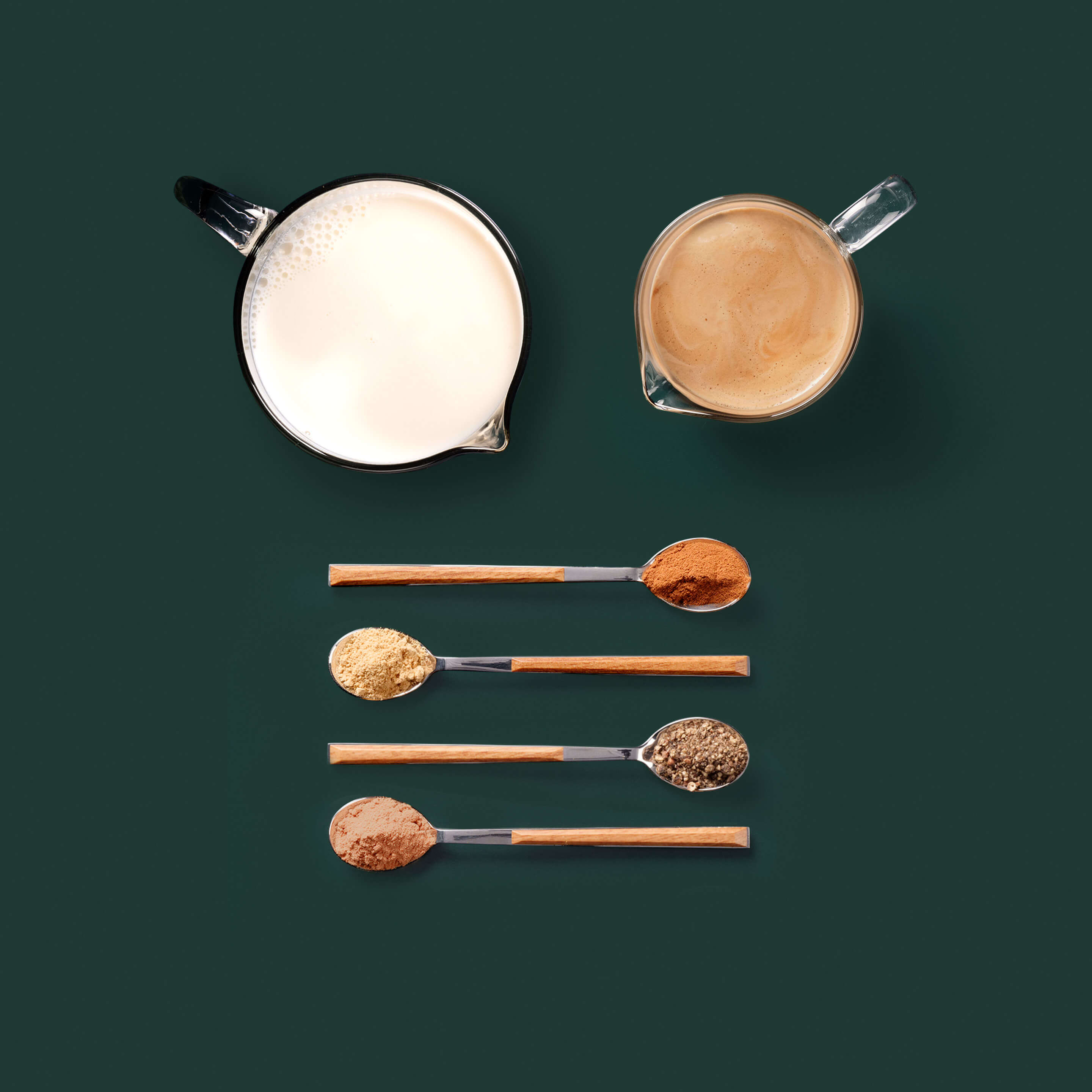 Spiced Flat White ingredients